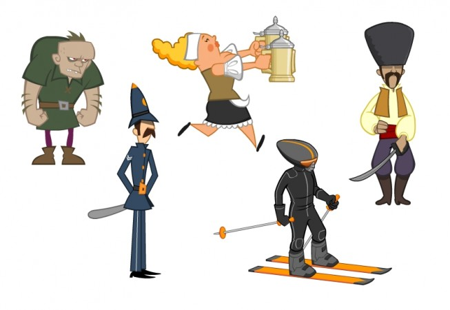 Character Design Portfolio Examples : Character design and illustration kev
