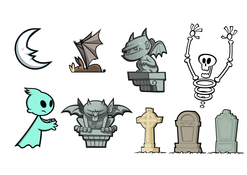 Character Design London : Character design and illustration kev